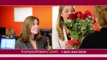 FromYouFlowers.com TV Spot, 'Valentine's Day Roses' - Thumbnail 4
