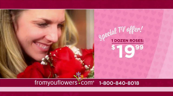 FromYouFlowers.com TV Spot, 'Valentine's Day Roses' - Thumbnail 5