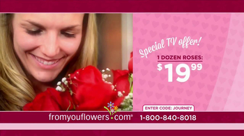 FromYouFlowers.com TV Spot, 'Valentine's Day Roses' - Thumbnail 6