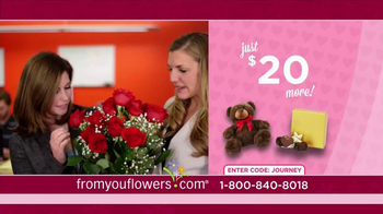 FromYouFlowers.com TV Spot, 'Valentine's Day Roses' - Thumbnail 7