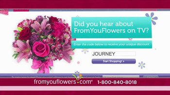 FromYouFlowers.com TV Spot, 'Valentine's Day Roses' - Thumbnail 8