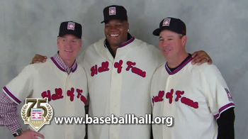 National Baseball Hall of Fame TV Spot Featuring Greg Maddux, Frank Thomas