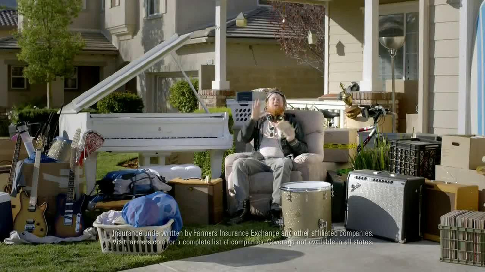 Farmers Insurance TV Commercial, 'Troubled Tees' - iSpot.tv