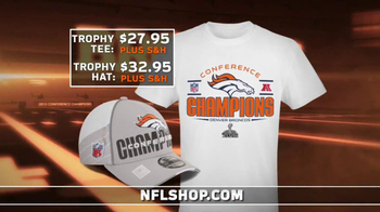 NFL Shop TV Spot, 'Broncos AFC Champions' - 14 commercial airings