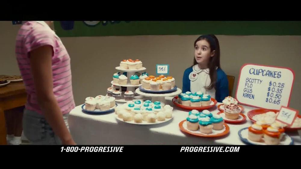 Progressive TV Commercial, 'Bake Sale'