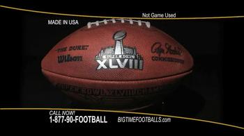 Big Time Footballs Seahawks Super Bowl XLVIII Football TV Spot - Thumbnail 3