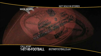 Big Time Footballs Seahawks Super Bowl XLVIII Football TV Spot - Thumbnail 5