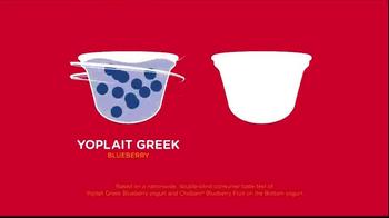 Yoplait Blueberry Greek Yogurt TV Spot, 'Taste-Off' - Thumbnail 3