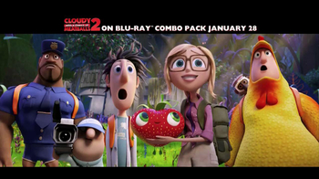 Cloudy with a Chance of Meatballs 2 Blu-Ray and DVD TV Spot - Thumbnail 1