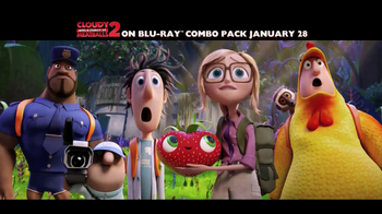 Cloudy with a Chance of Meatballs 2 Blu-Ray and DVD TV Spot
