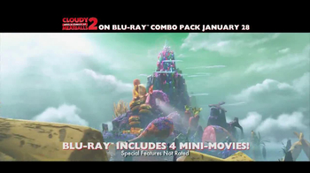 Cloudy with a Chance of Meatballs 2 Blu-Ray and DVD TV Spot - Thumbnail 3