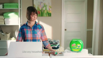 Gain Flings Detergent TV Spot, 'Music to Your Nose' - Thumbnail 1