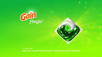 Gain Flings Detergent TV Spot, 'Music to Your Nose' - Thumbnail 8