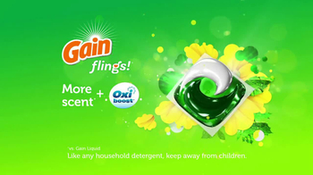 Gain Flings Detergent TV Spot, 'Music to Your Nose' - Thumbnail 9