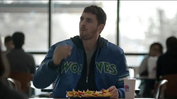 Taco Bell XXL Steak Nachos TV Spot, 'You are Not Kevin Love' Ft. Kevin Love - Thumbnail 1