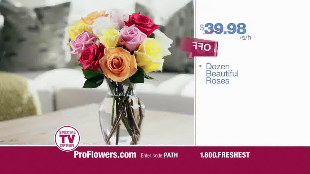 Proflowers Tv Commercial Not Too Late Video