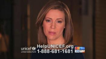 UNICEF TV Spot, 'It's Happening' Featuring Alyssa Milano - Thumbnail 4