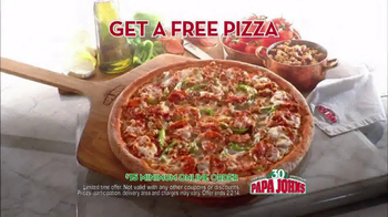 Papa John's TV Spot, 'Locked Time Machine' Featuring Peyton Manning - Thumbnail 5