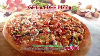 Papa John's TV Spot, 'Locked Time Machine' Featuring Peyton Manning - Thumbnail 6