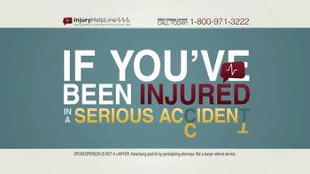 Injury Helpline TV Spot, 'Serious Accident'