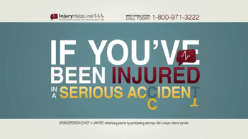 Injury Helpline TV Spot, 'Serious Accident'