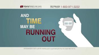 Injury Helpline TV Spot, 'Serious Accident' - Thumbnail 3