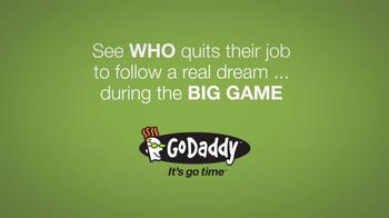 GoDaddy Super Bowl 2014 Teaser TV Spot, 'I Quit' Featuring John Turturro - Thumbnail 9