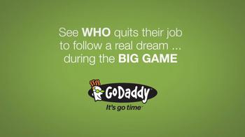 GoDaddy Super Bowl 2014 Teaser TV Spot, 'I Quit' Featuring John Turturro - Thumbnail 8