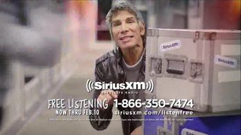 Sirius/XM Satellite Radio TV Spot, 'The Button' - Thumbnail 10