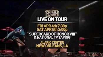 ROH Wrestling Supercard of Honor VIII TV Spot - Thumbnail 8
