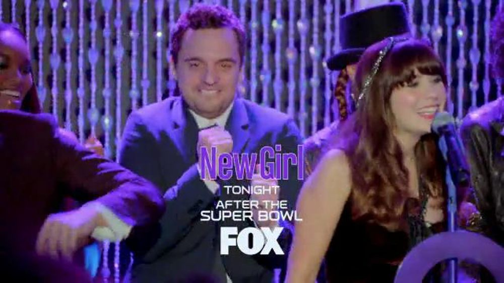 FOX: New Girl Super Bowl 2014 TV Promo
