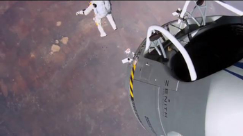 GoPro Super Bowl TV Spot 2014, 'Red Bull Stratos' Feat. Felix Baumgartner - Thumbnail 9