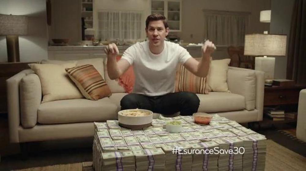 Esurance Super Bowl 2014 TV Commercial Featuring John Krasinski