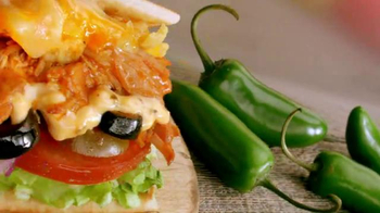 Subway Fritos Chicken Enchildada Melt Super Bowl 2014 TV Spot - Thumbnail 1