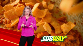 Subway Fritos Chicken Enchildada Melt Super Bowl 2014 TV Spot - 1376 commercial airings