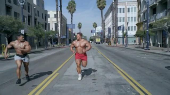 GoDaddy Super Bowl 2014 TV Spot, 'Bodybuilder' Featuring Danica Patrick - Thumbnail 2
