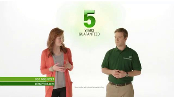 CenturyLink Super Bowl 2014 TV Spot, '5-Year Guarantee'