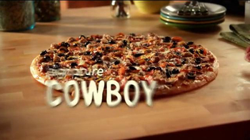 Papa Murphy's Pizza Super Bowl 2014 TV Spot, 'Cowboy' - Thumbnail 6