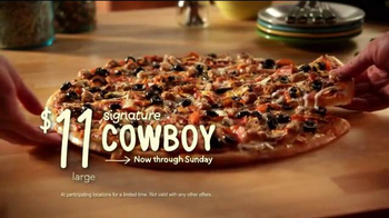 Papa Murphy's Pizza Super Bowl 2014 TV Spot, 'Cowboy' - Thumbnail 7