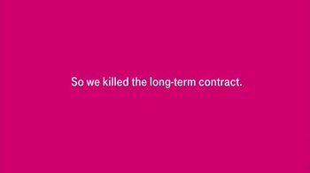 T-Mobile Super Bowl 2014 TV Spot, 'We Killed the Long-Term Contract' - Thumbnail 3