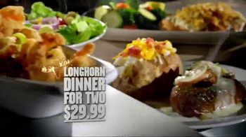 Longhorn Steakhouse Sirloin Chimichurri Sandwich TV Spot - 1564 commercial airings