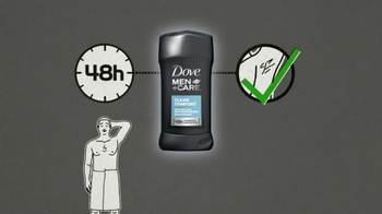 Dove Men+Care Clean Comfort TV Spot, 'Protect Underarms' - Thumbnail 8