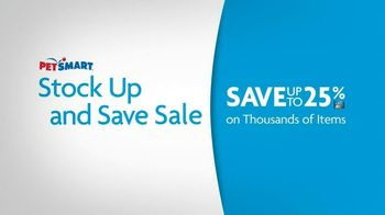 PetSmart Stock Up and Save Sale TV Spot, 'Save More'