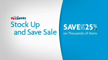PetSmart Stock Up and Save Sale TV Spot, 'Save More' - Thumbnail 6