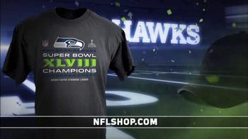 NFL Shop TV Spot, 'Seahawks Super Bowl XLVIII Champions' - Thumbnail 3