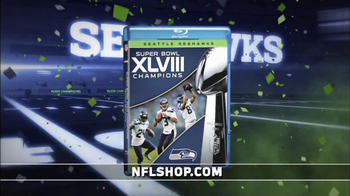 NFL Shop TV Spot, 'Seahawks Super Bowl XLVIII Champions' - Thumbnail 4