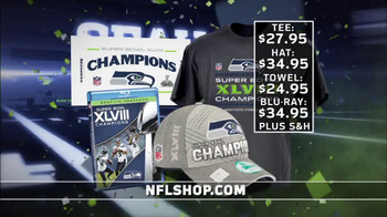 NFL Shop TV Spot, 'Seahawks Super Bowl XLVIII Champions' - 1254 commercial airings