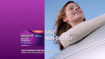 Allegra-D TV Spot - Thumbnail 6