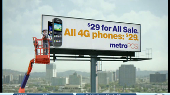 MetroPCS TV Spot, '4G Phone Sale' - Thumbnail 4