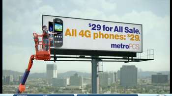 MetroPCS TV Spot, '4G Phone Sale' - Thumbnail 7